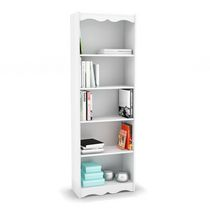 "Sonax S-217-NHL Hawthorn 72"" Tall Bookcase in Frost White"