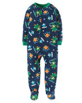 Child of Mine made by Carter's Infant Boy's Monsters Printed Blanket Fleece Pyjama 18M