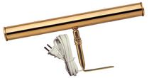 Atron Electro Industries 14 Inch Brass Plated Picture Light