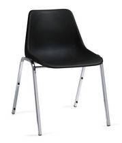 Global Plastic Stacking Armless Chair