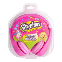 Sakar Shopkins Kid-Safe Headphones