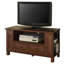 Brown Wood Multi-Storage TV Stand