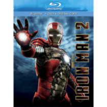 Iron Man 2 (3-Disc) (Blu-ray + DVD + Digital Copy)