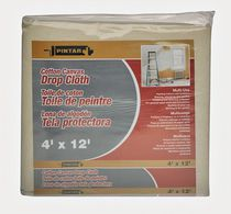 Pintar Cotton Canvas Drop Cloth, 4'x12'