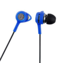 G-Cube PerfectFiT iBuds Earbud Headphones (iP-1300BL) - Blue