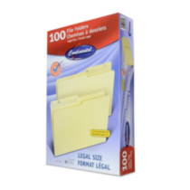 Manila Color Legal Size Reversible File Folders