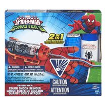 Marvel Spider-Man Spider-Man Color Shock Slinger Toy