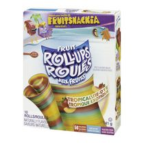 Fruit Roll-Ups™ Tropical Tie-Dye Fruit Flavoured Snacks