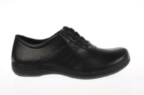 Walker Womens Work Shoe in Black 7