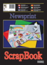 Newsprint Scrapbook