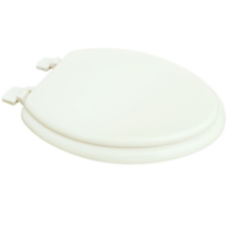 19 inch Elongated Molded Wood Toilet Seat