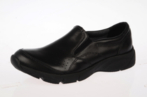 Jessica Womens Work Shoe in Black 8