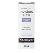 Neutrogena® Moisture® Oil-Free Ultra-Gentle Sensitive Skin Facial Moisturizer
