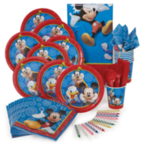 Mickey Mouse Value Party Kit for 8
