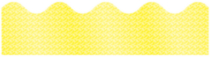 Yellow Sparkle Scalloped border