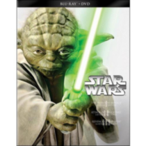 Star Wars Trilogy: Episodes I - III: The Phantom Menace / Attack Of The Clones / Revenge Of The Sith (Blu-ray + DVD) (Bilingual)