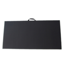 Apple Athletic Exercise Mat - Black 2' x 5' x 1""