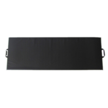 Apple Athletic Single Panel Exercise Mat Black