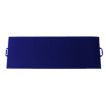 Apple Athletic Exercise Mat - Royal Blue 2' x 6' x 1""