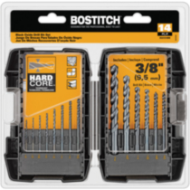 BOSTITCH 14- Piece Black Oxide Drill Bit Set (BSA1S14BM)