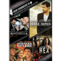 4 Film Favorites: Contemporary Westerns Collection - Appaloosa / The Assassination Of Jesse James By The Coward Robert Ford / American Outlaws / Jonah Hex