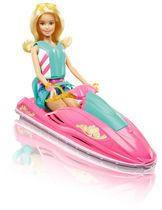 Barbie Camping Fun Water Ride & Accessories