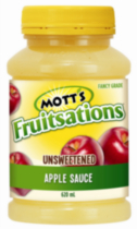 Mott's Fruitsations Unsweetened Apple Sauce