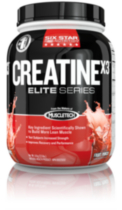 Six Star Pro Nutrition CreatineX3 (Fruit Punch) 2.5lb.
