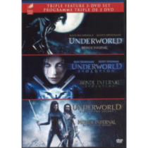 Underworld Trilogy: Underworld / Underworld: Evolution / Underworld: Rise Of The Lycans (Bilingual)