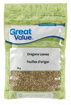 Herbes feuilles d'origan de Great Value