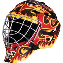Masque de gardien de but des Flames de Calgary de la NHL de Franklin Sports