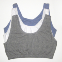 Fruit of the Loom, Built Up Sports Bra Grey 42