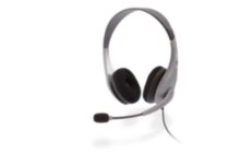 Cyber Acoustics AC-401 Speech Recognition Stereo Headset & Boom Mic