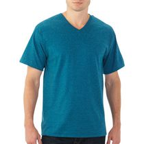 Fruit of the Loom Men's Short-Sleeve T-Shirt Blue 2XL
