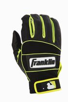 Grand gant de frappeur pour adultes Neo-100 de la MLB Black/Yellow