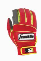 MLB Adult Neo-100 Batting Small Glove Grey/Red