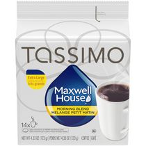 Tassimo Maxwell House Morning Blend Light Roast T Disc Coffee