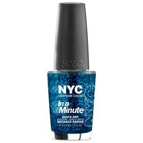 NYC New York Color In A New York Minute Nail Color Sea of Diamonds
