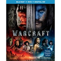 WarCraft (Blu-ray + DVD + Digital HD) (Bilingual)