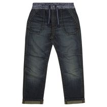 George British Design Toddler Boys' Ribbed Waist Unlined Jean 4T
