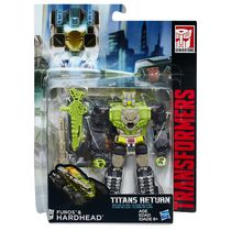 Transformers Generations Titans Return Titan Master Furos and Hardhead Action Figures