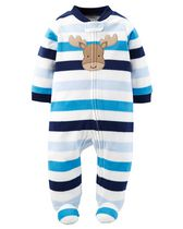 Child of Mine made by Carter's NB Boy's Sleep n Play Body Suit 0-3