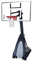Spalding® The Beast® Glass Backboard Portable Basketball System
