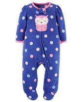 Child of Mine by Carter's Newborn Girls' OWL Sleep n Play Outfit NB