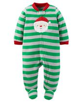 Child of Mine by Carter's Newborn Boys' Santa Sleep n Play Outfit NB