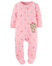 Child of Mine made by Carter's NB Girl's Sleep n Play Monkey Bodu Suit 3-6