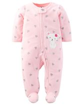 Child of Mine by Carter's Newborn Girls' Mouse Sleep n Play Outfit 3-6