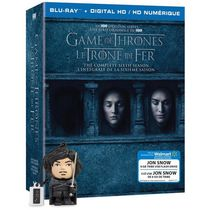 Game Of Thrones: The Complete Sixth Season (Blu-ray + Digital HD + John Snow USB) (Walmart Exclusive)