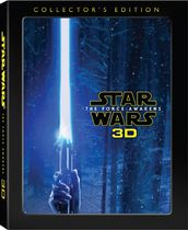 Star Wars: The Force Awakens 3D (Collector's Edition) (Blu-ray 3D + Blu-ray + DVD + Blu-ray Bonus + Digital HD)