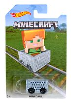 Véhicule Alex Minecraft de Hot Wheels